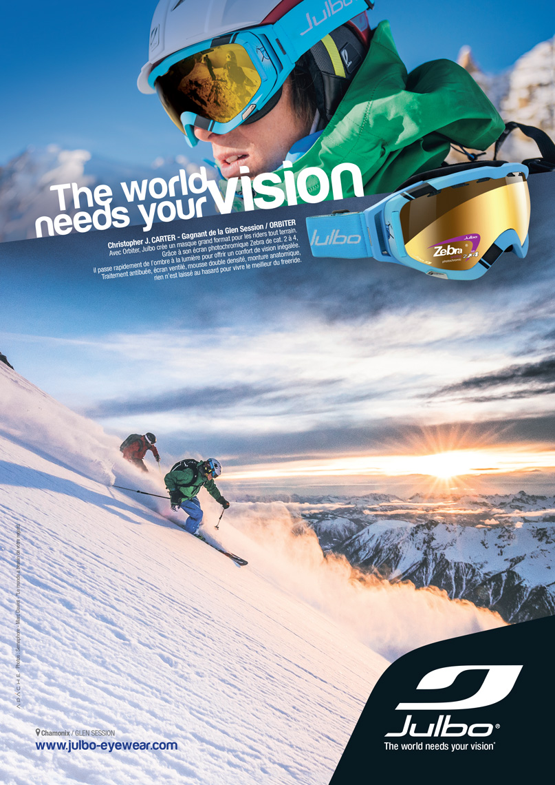 Julbo - Advertising  - Marc Daviet Photography