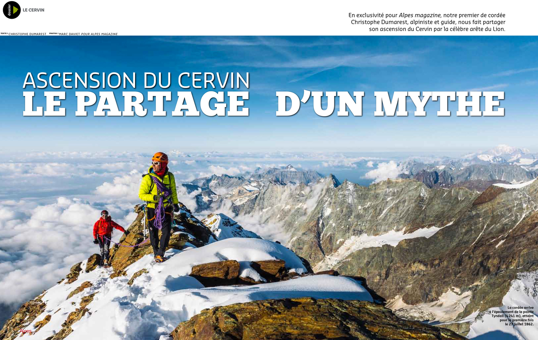 Alpes-Magazine 146 - Cervin - Marc Daviet Photography