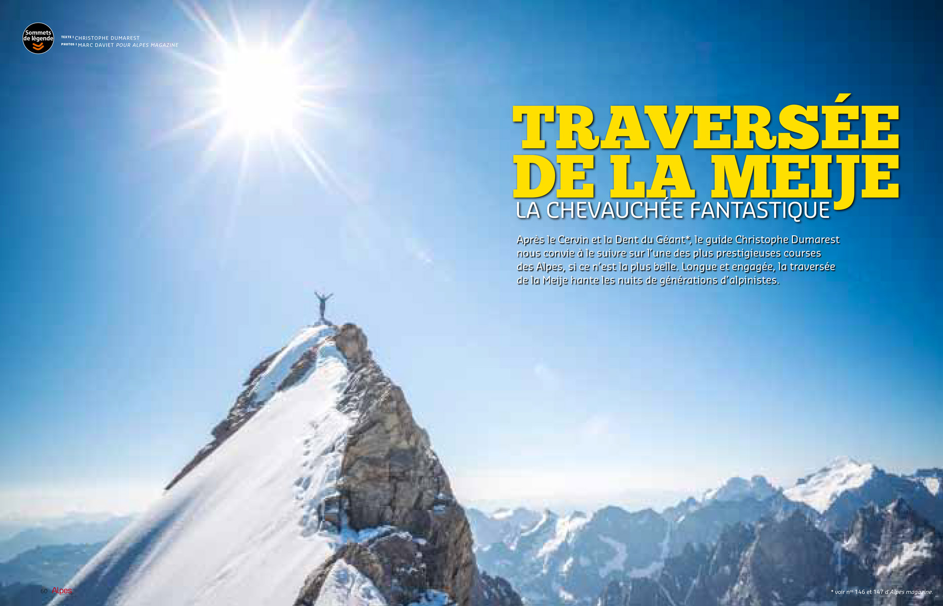 Alpes-Magazine 148 - Meije - Marc Daviet Photography