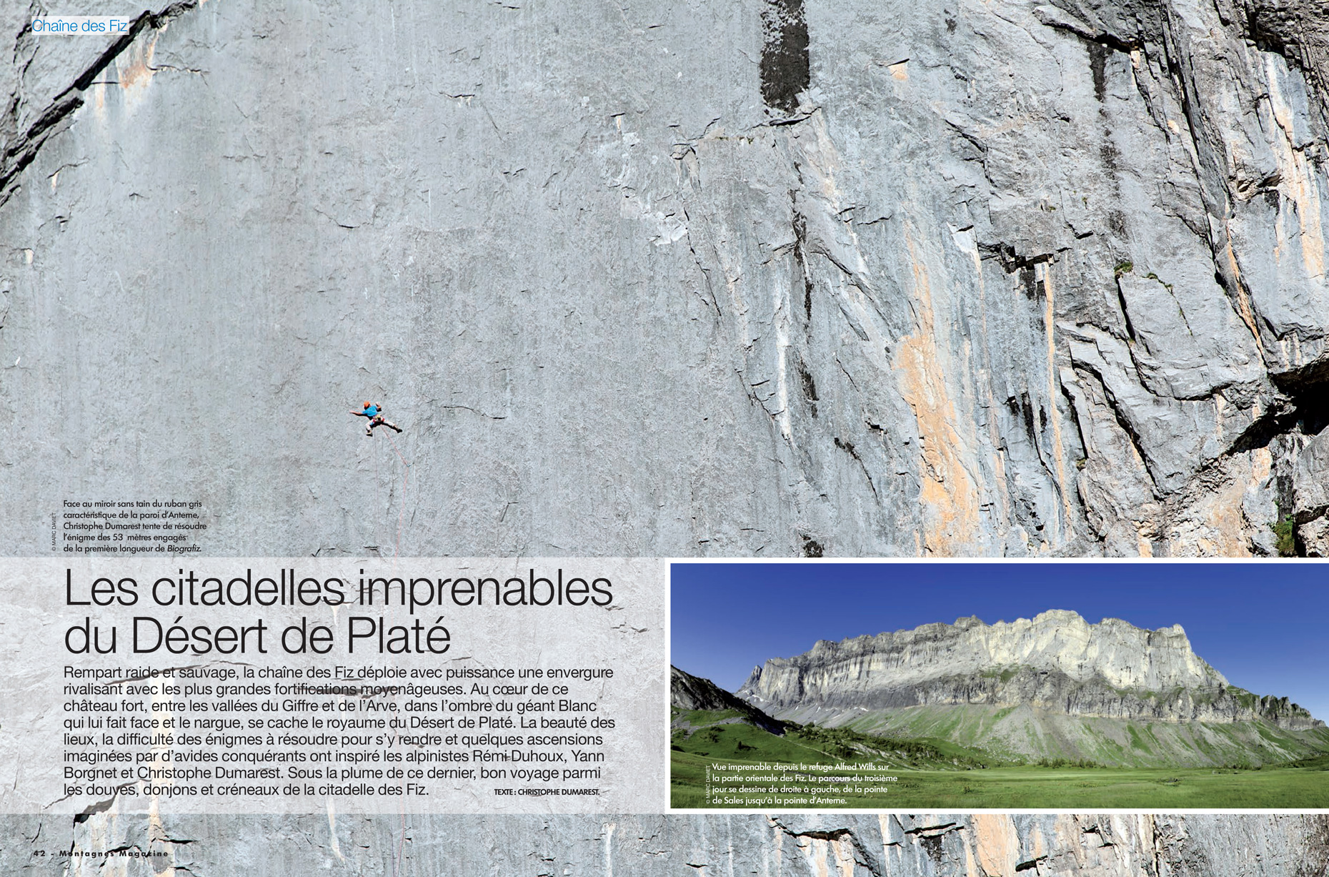 Montagnes-Magazine 383 - Marc Daviet Photography