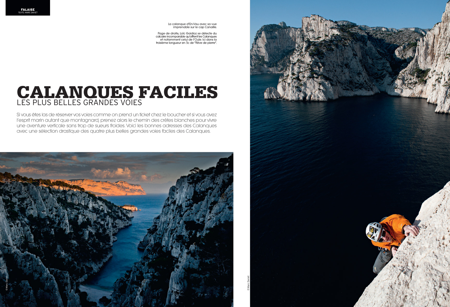 Grimper - Calanques - Marc Daviet Photography