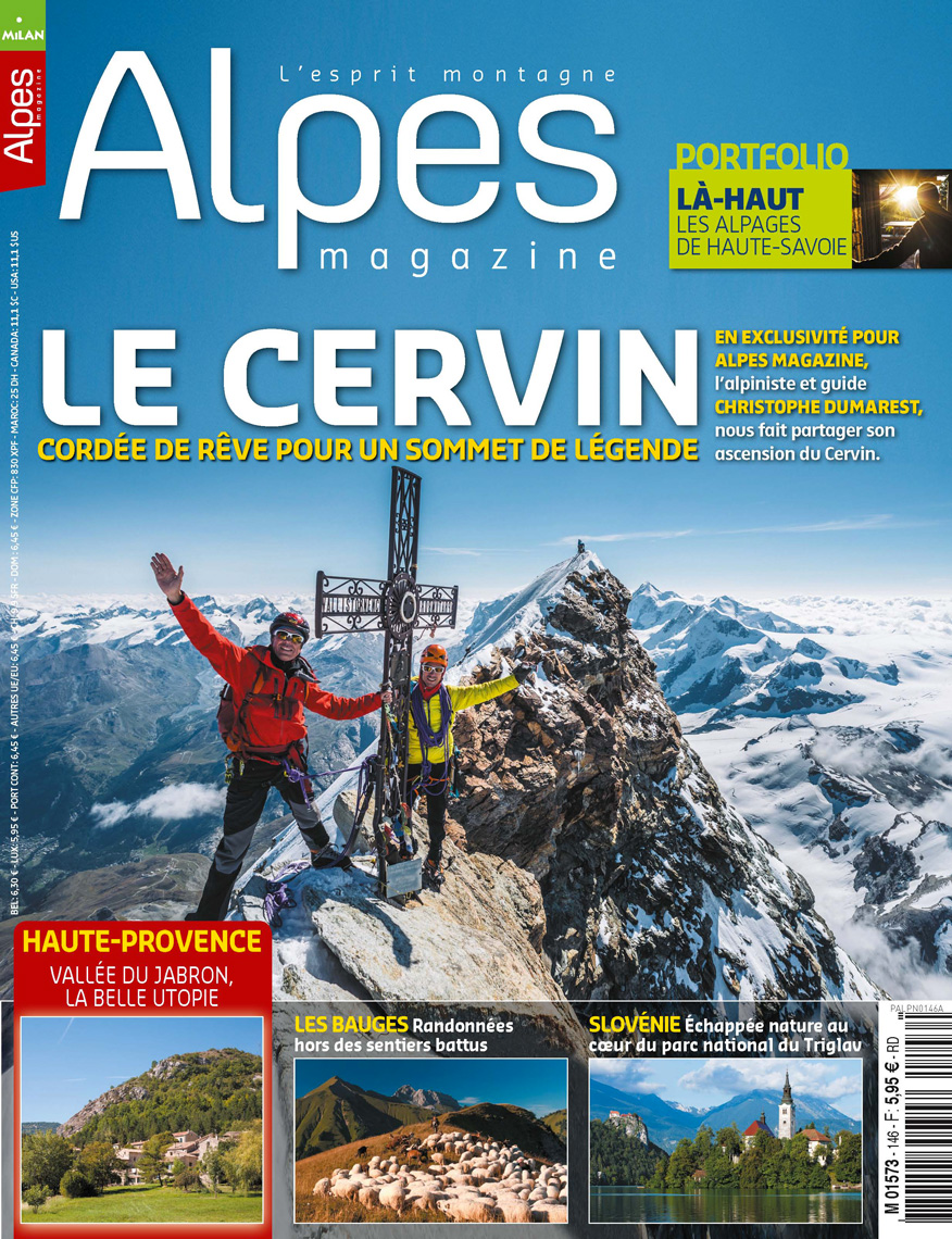 Alpes-Magazine - Le Cervin - Marc Daviet Photography