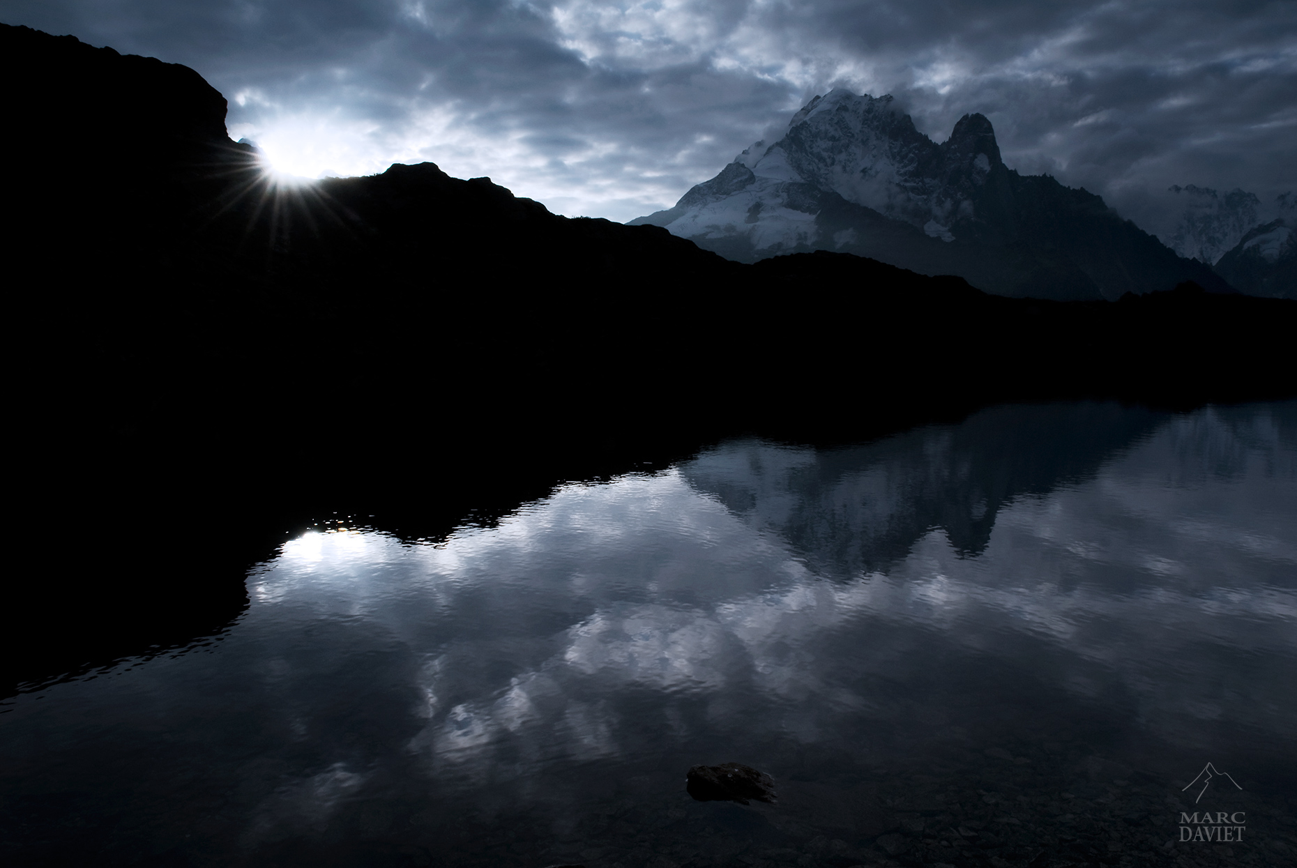 Chesery Lake - Chamonix - Marc Daviet Photography