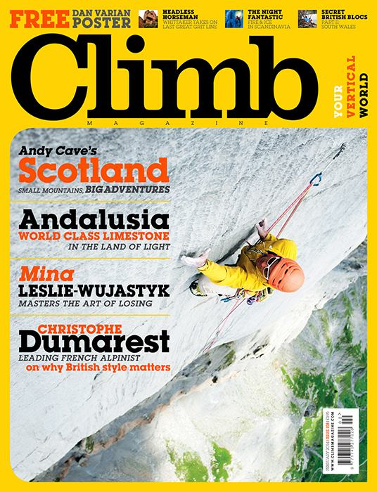 Cover Climb 108 - Marc Daviet Photography