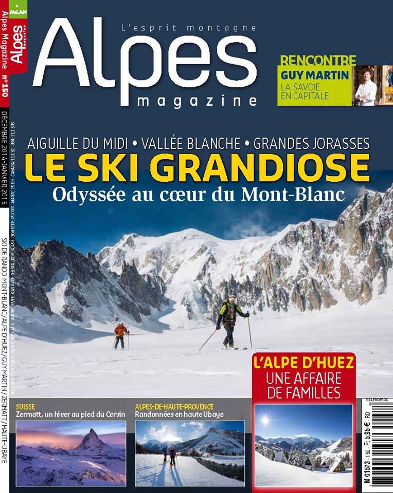 Alpes-Magazine - Skiing at Chamonix - Marc Daviet Photography