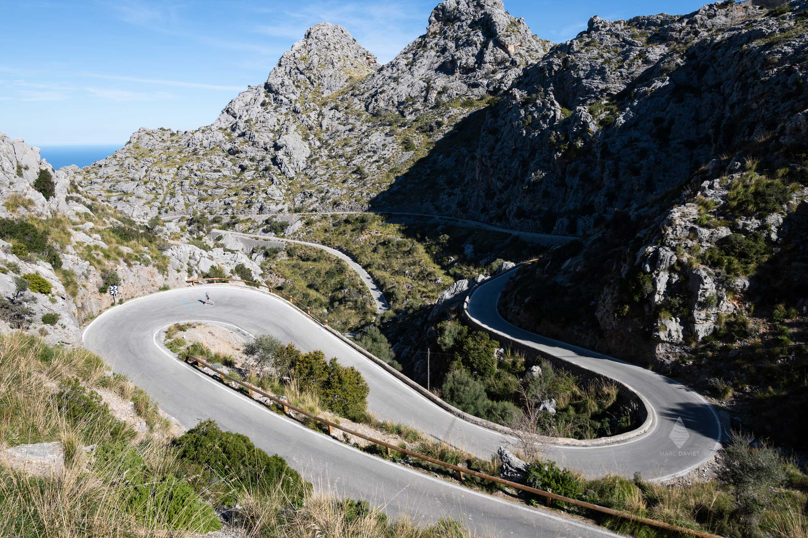 Winding Road in Mallorca