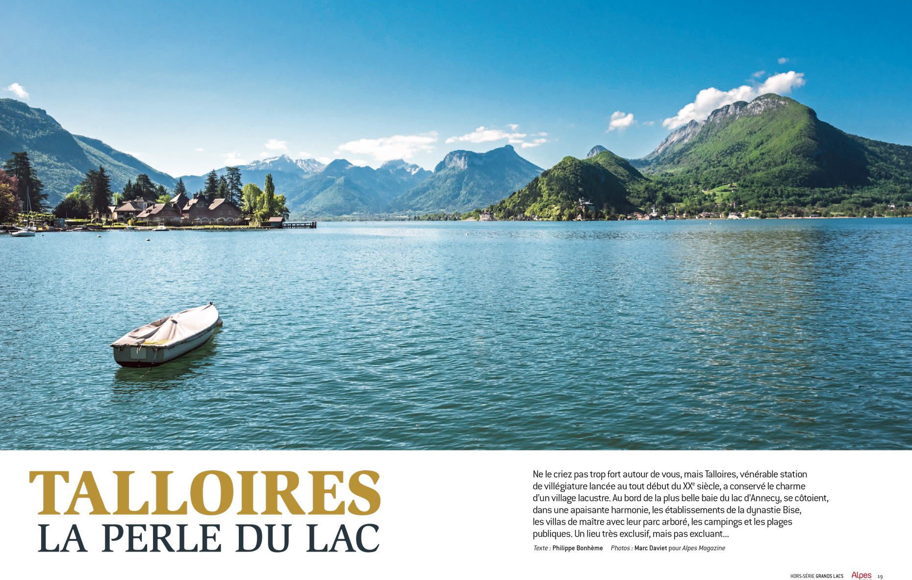 Alpes-Magazine -Talloires - Marc Daviet Photography