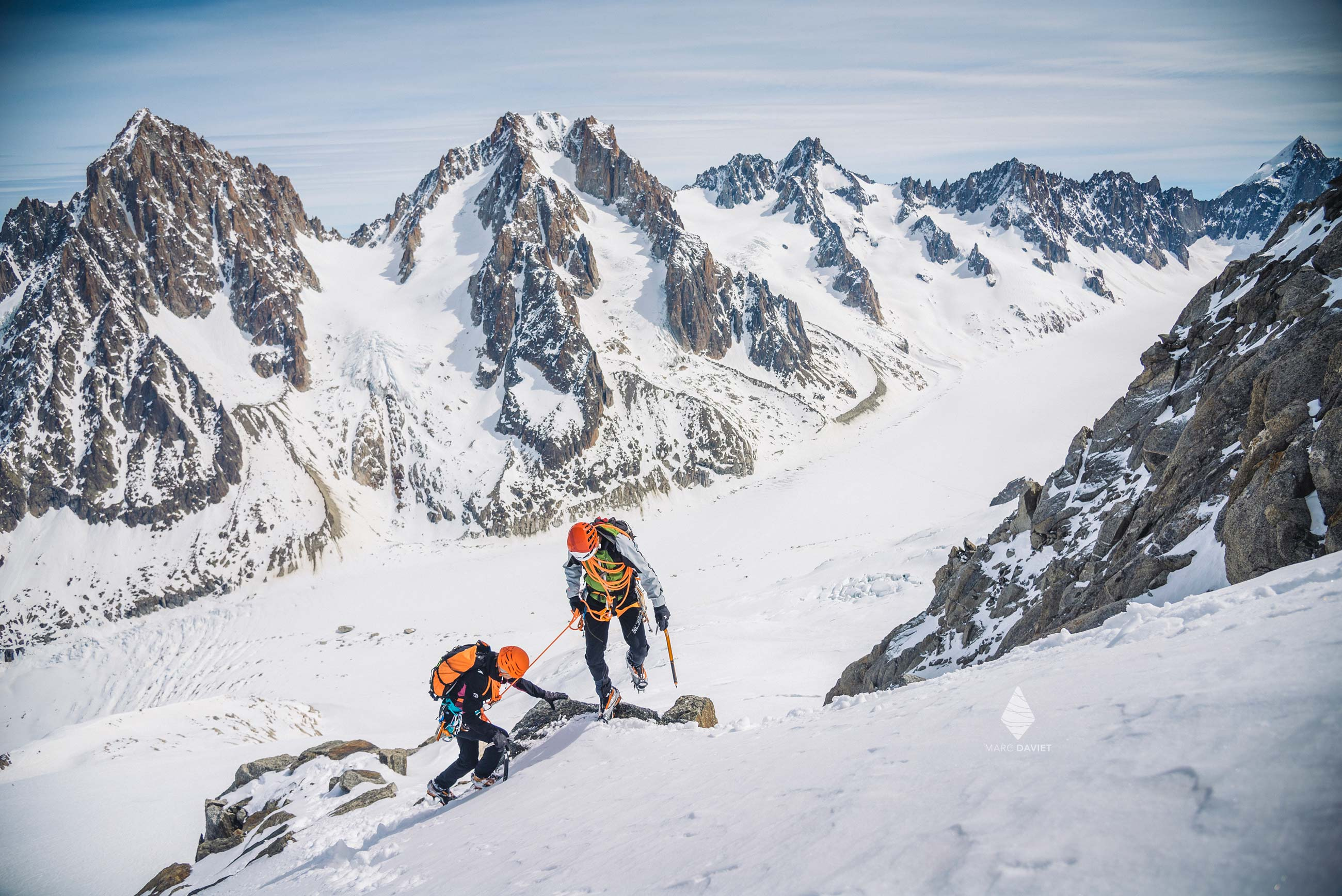 Mountaineering - Chamonix - Marc Daviet Photography