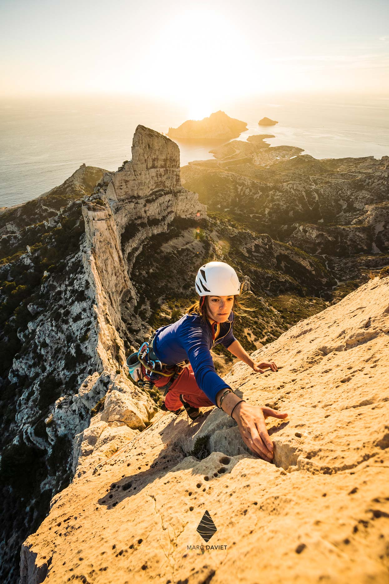Climbing in Calanques