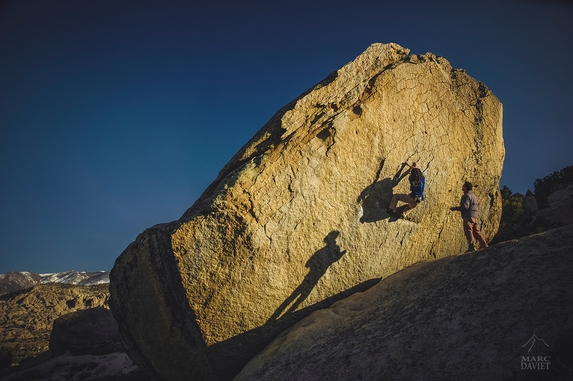 Bouldering - Buttermilk - Marc Daviet Photography