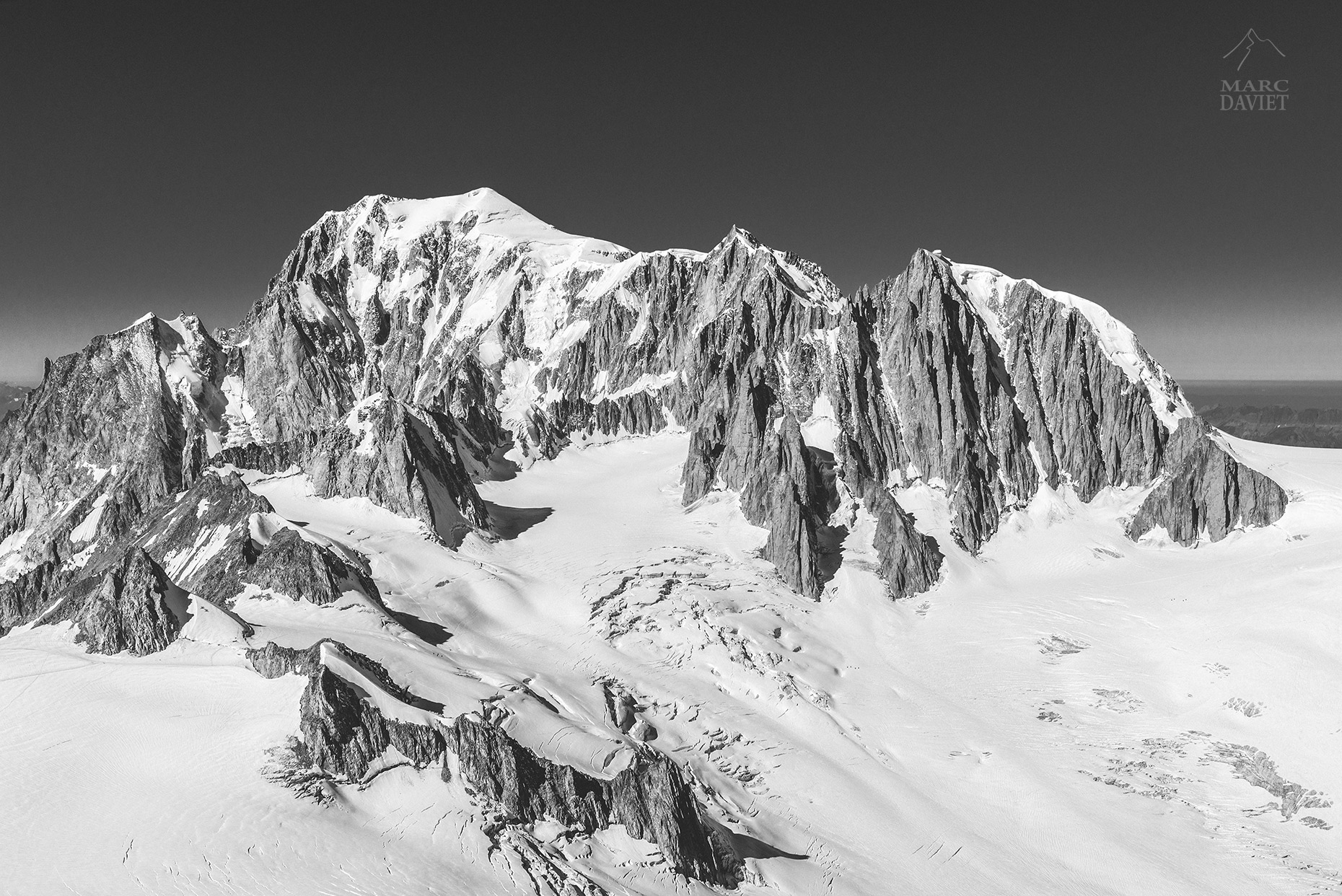 Massif of Mont-Blanc - Chamonix - Marc Daviet Photography