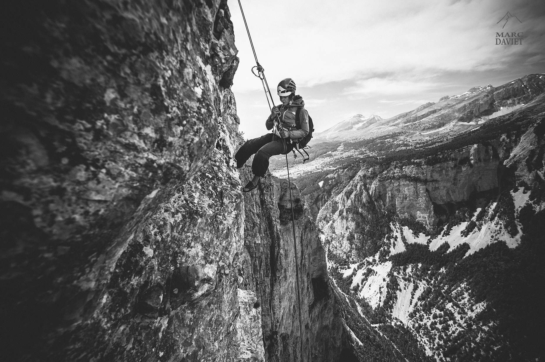 Abseil - Marc Daviet Photography