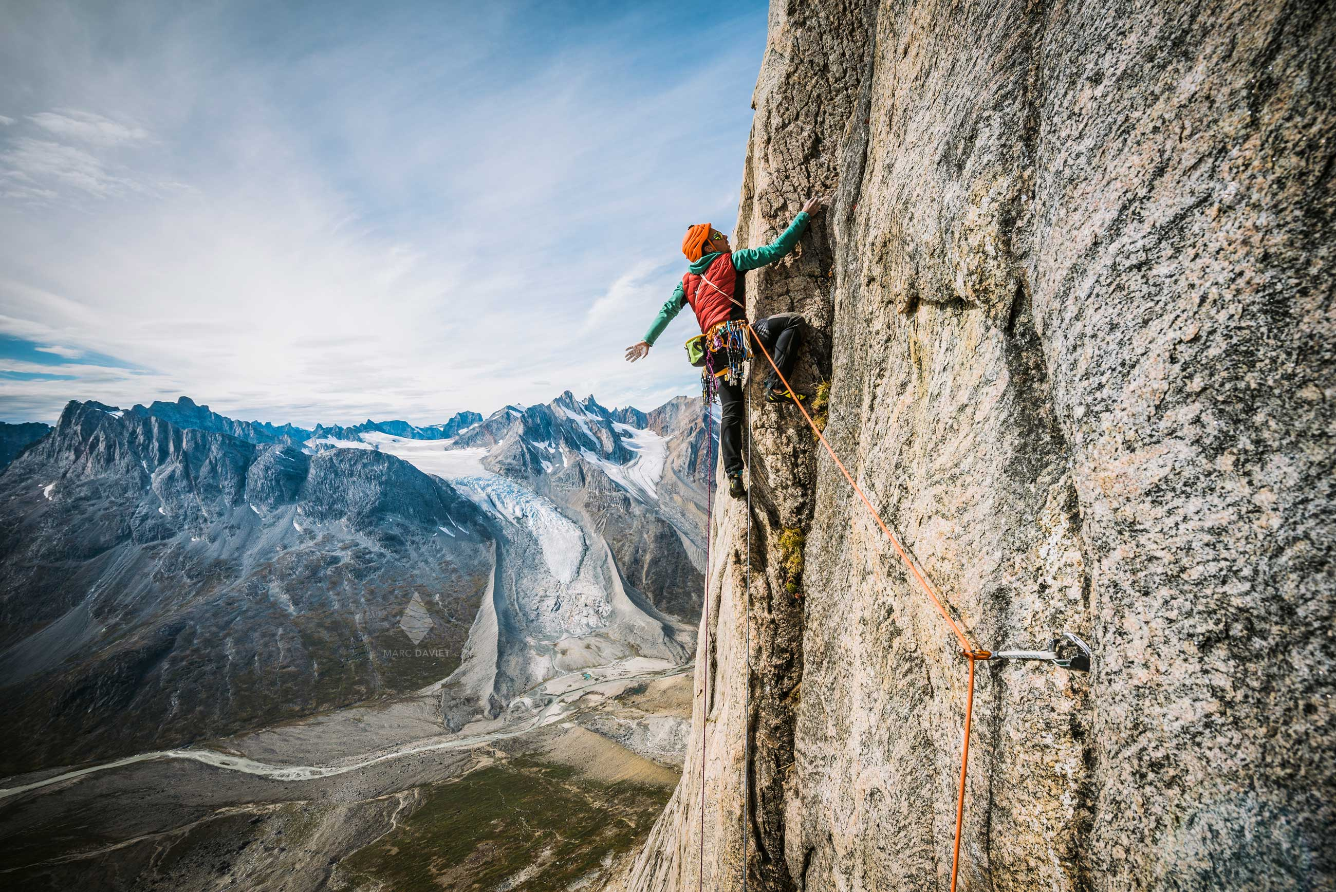 Climbing in Greenland