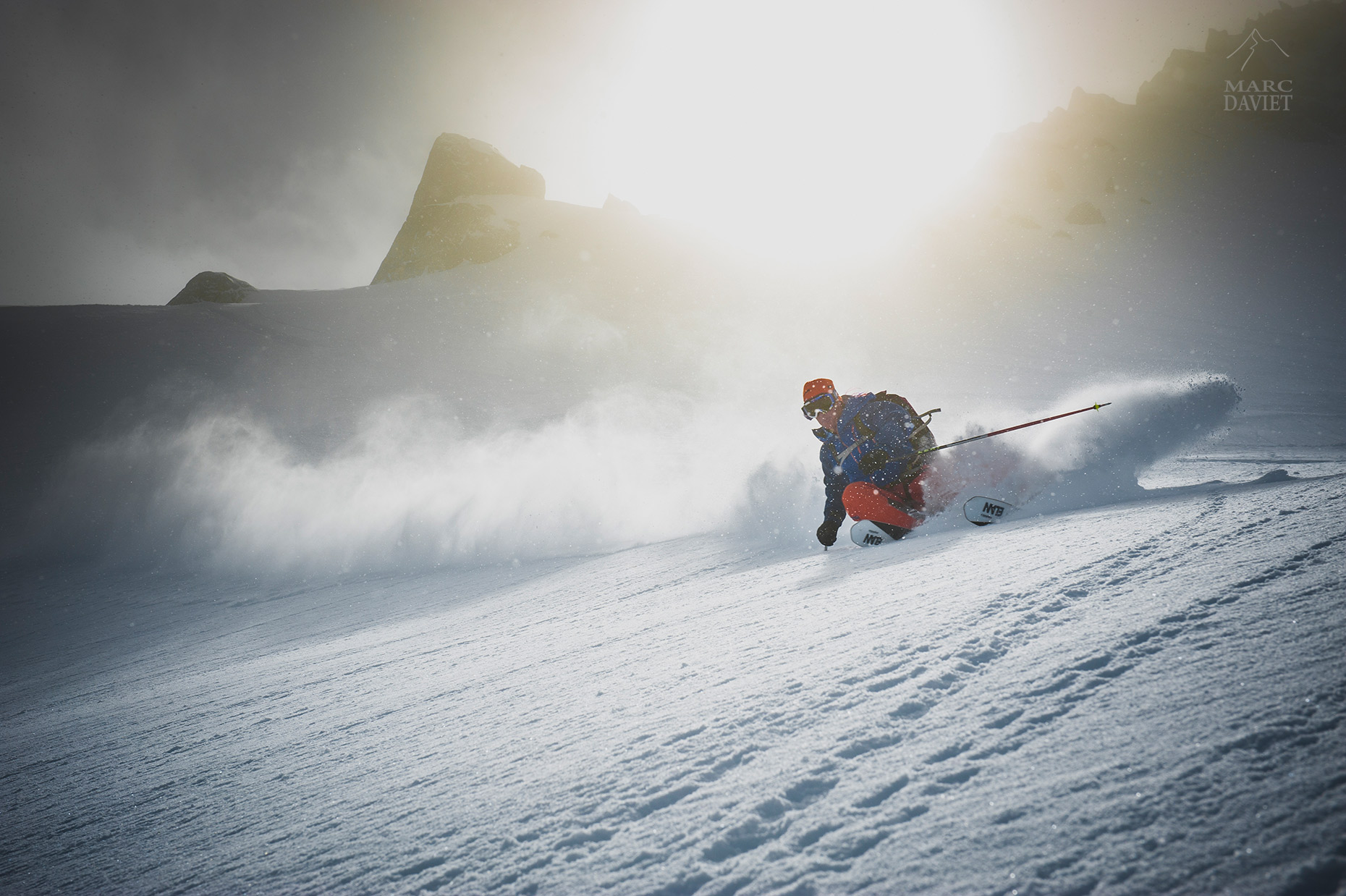Freeride - Chamonix - Marc Daviet Photography