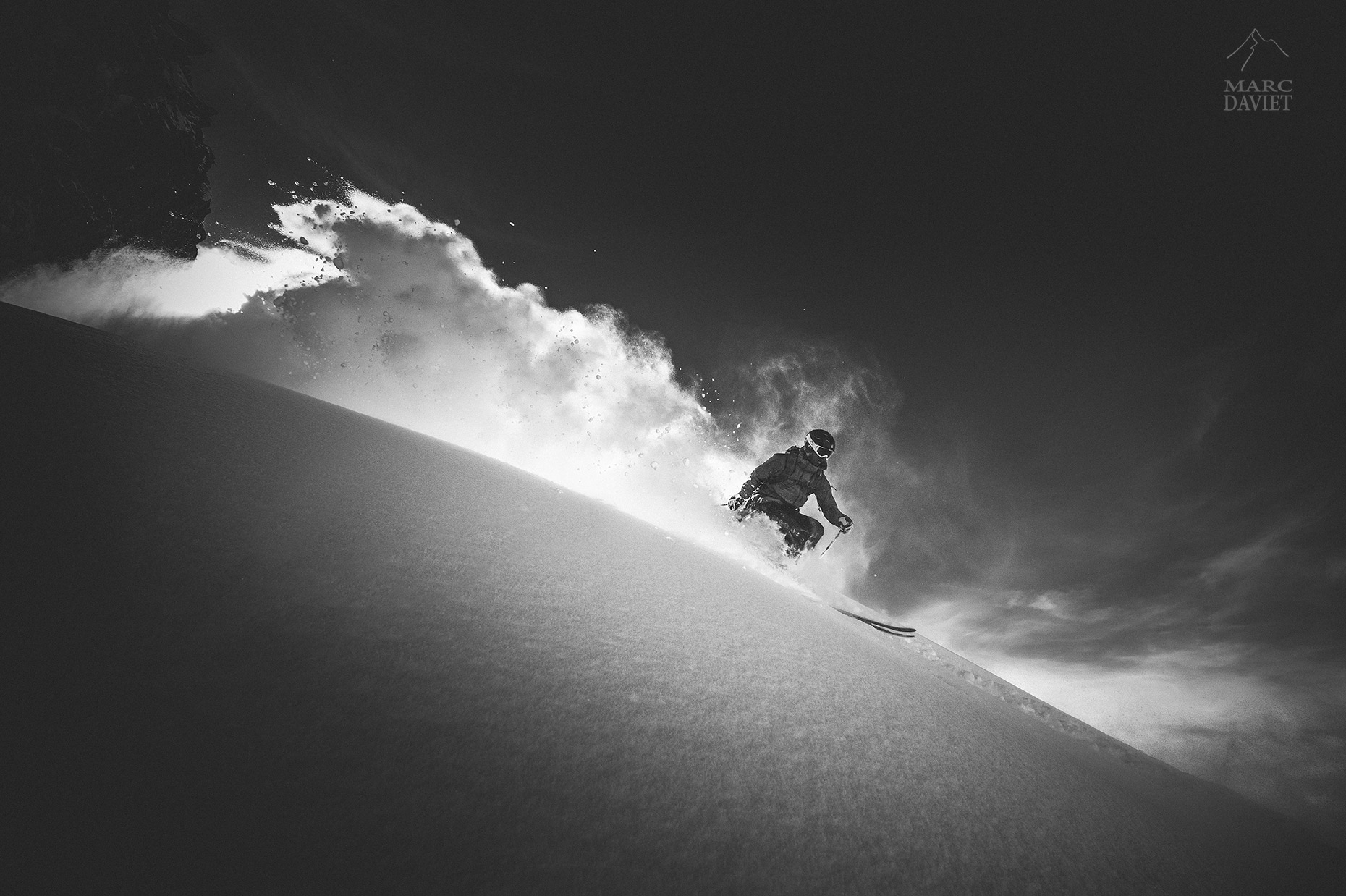 Powder - Chamonix - Marc Daviet Photography