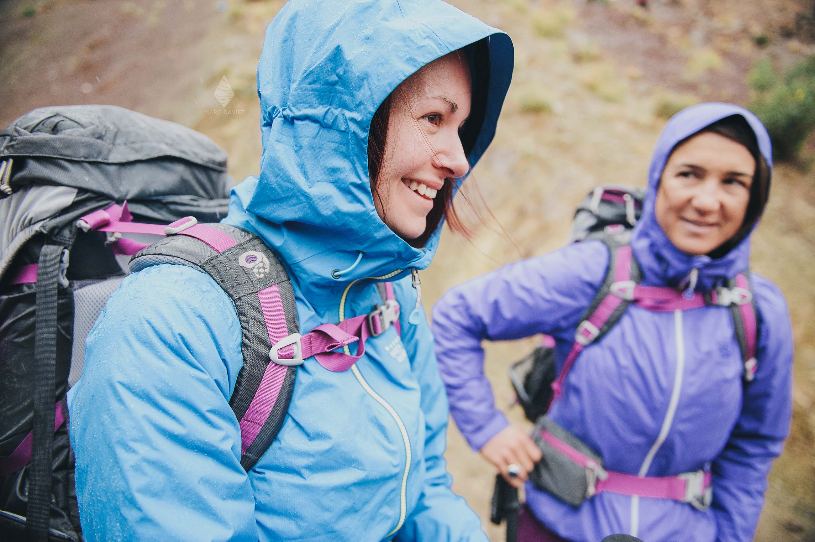 Mountain Hardwear rain jackets