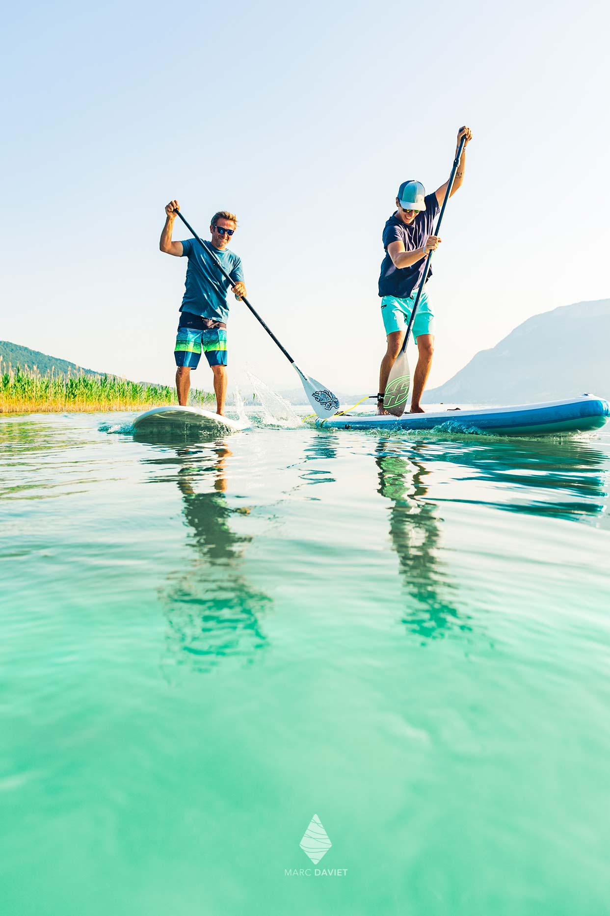 Stand Up Paddle on Annecy lake