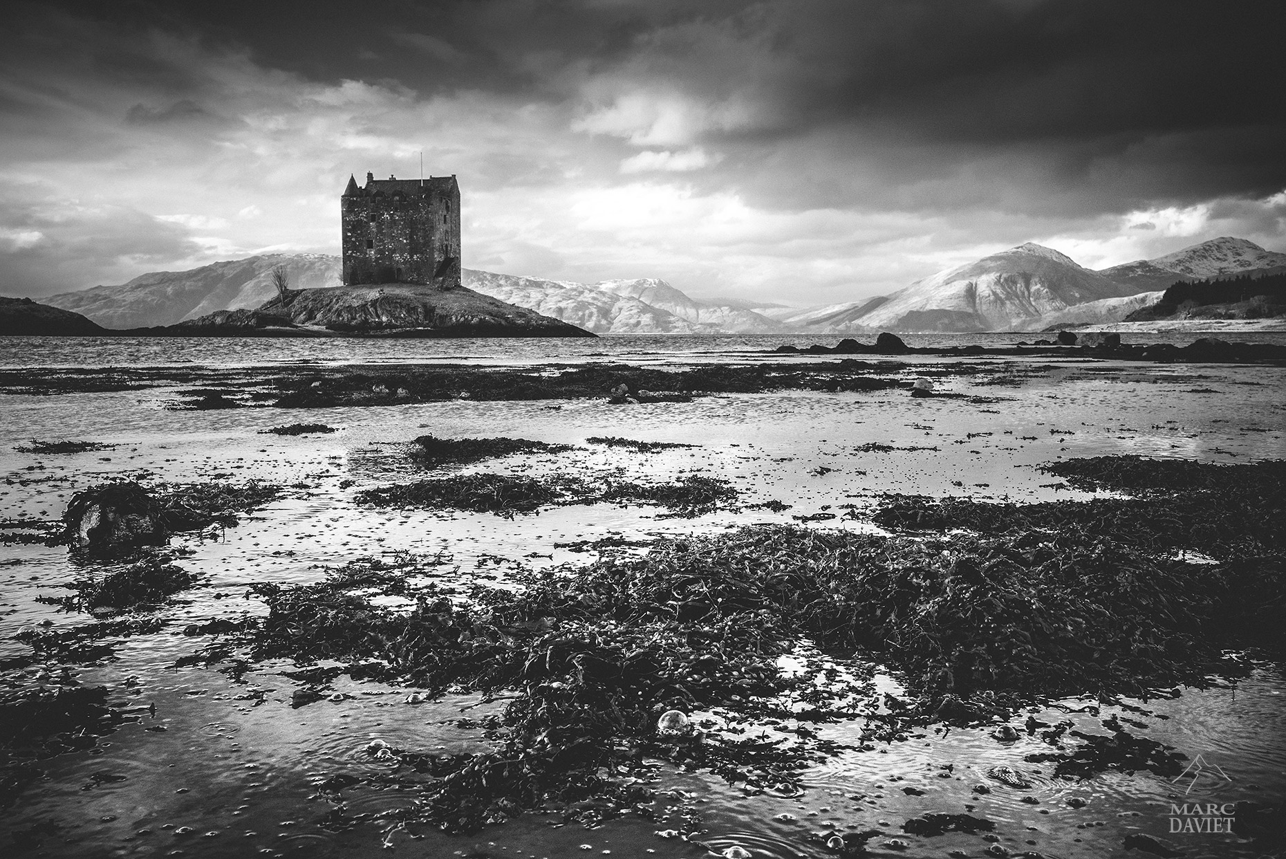Castle Stalker - Scotland - Marc Daviet Photography