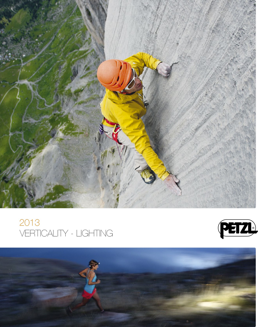 Petzl - Sport catalog 2013 - Marc Daviet Photography