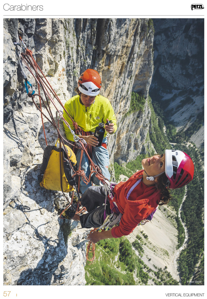 Petzl - Sport catalog 2014  - Marc Daviet Photography