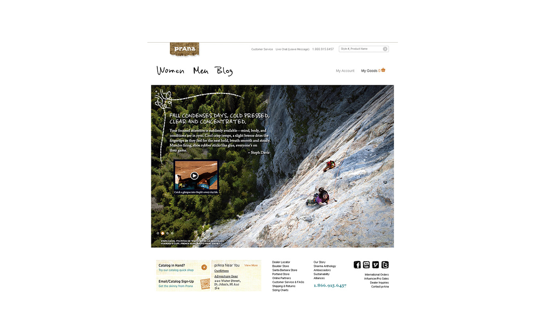 Prana - Website  - Marc Daviet Photography