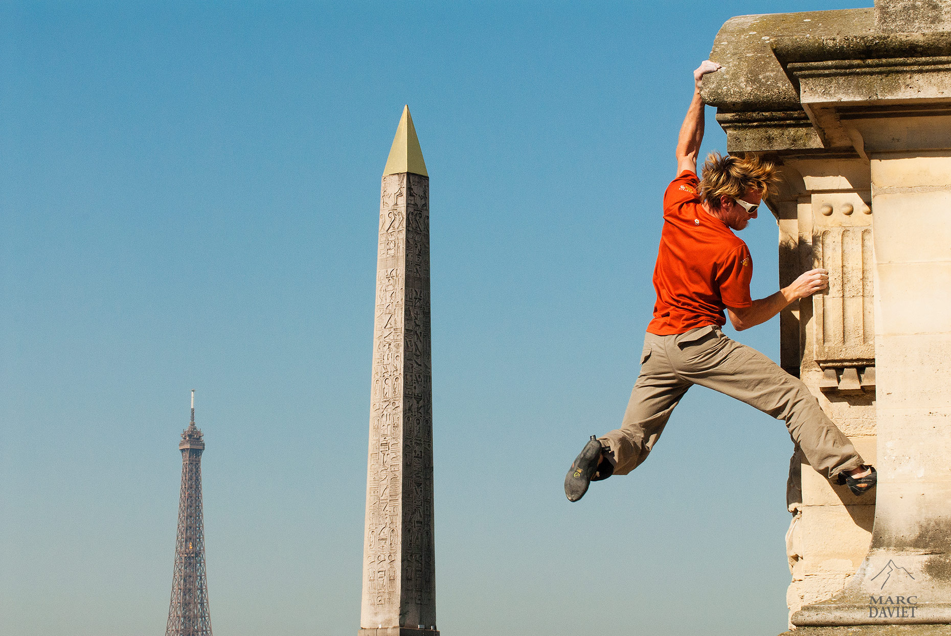 Street Climbing - Paris - Marc Daviet Photography
