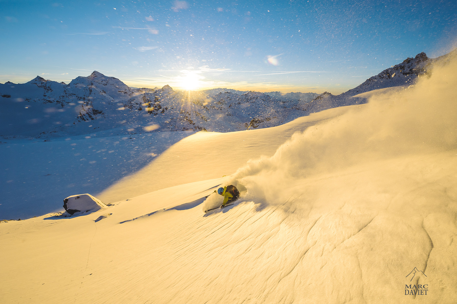 Freeride - Val Thorens - Marc Daviet Photography