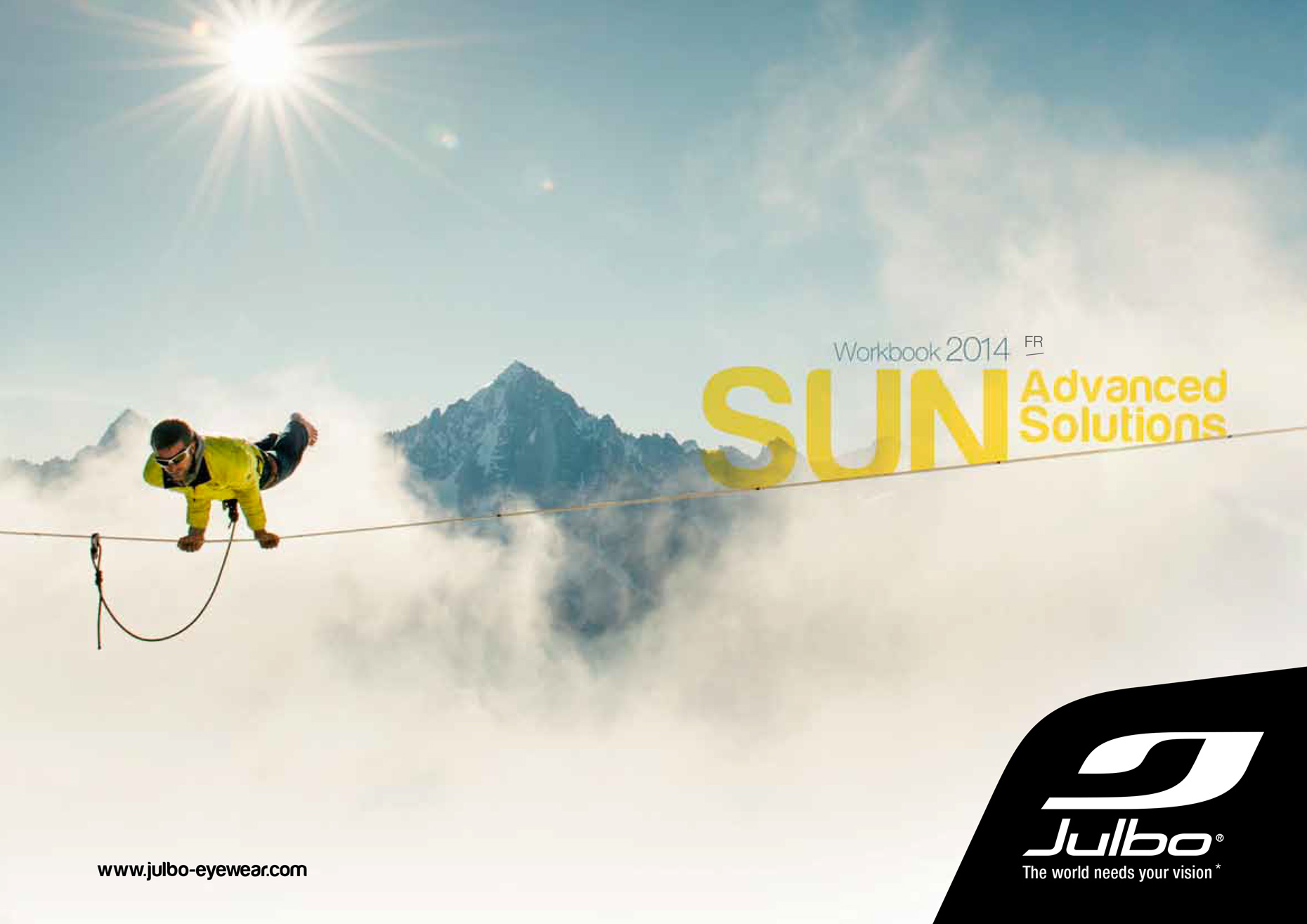 Julbo - Catalog cover summer 2014  - Marc Daviet Photography