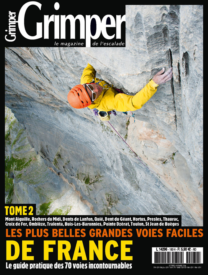 Cover Grimper 160 -  Marc Daviet Photography