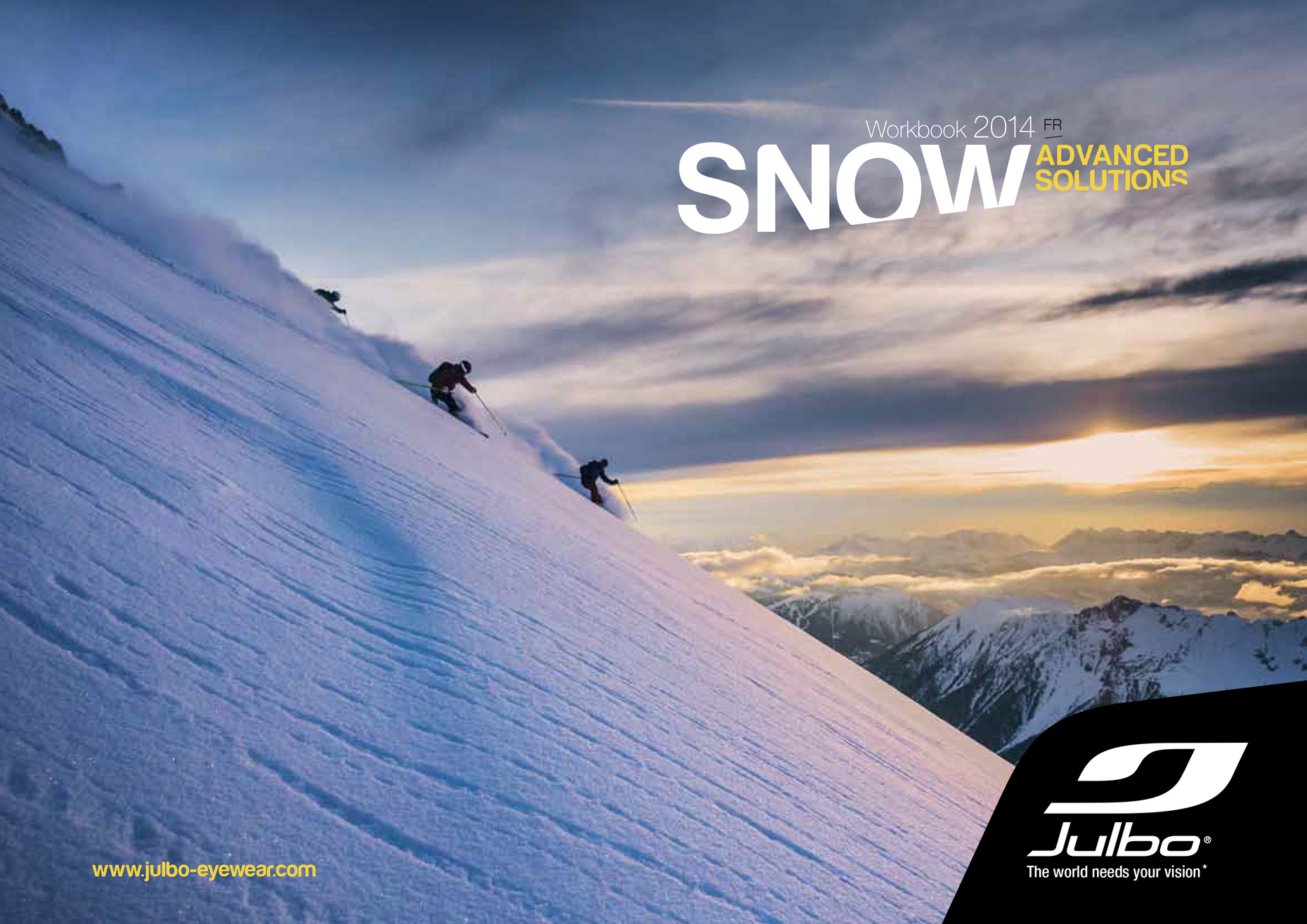 Julbo - Catalog cover winter 2014  - Marc Daviet Photography